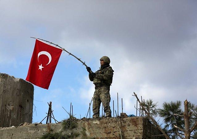 土耳其军方:过去24小时内在叙阿夫林歼灭46名武装分子