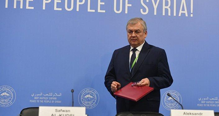 俄总统叙问题特使:美缺席不影响叙问题阿斯塔纳和谈进程