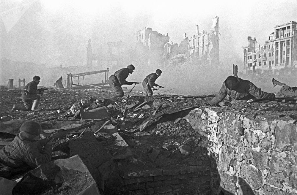 斯大林格勒巷战,1942年