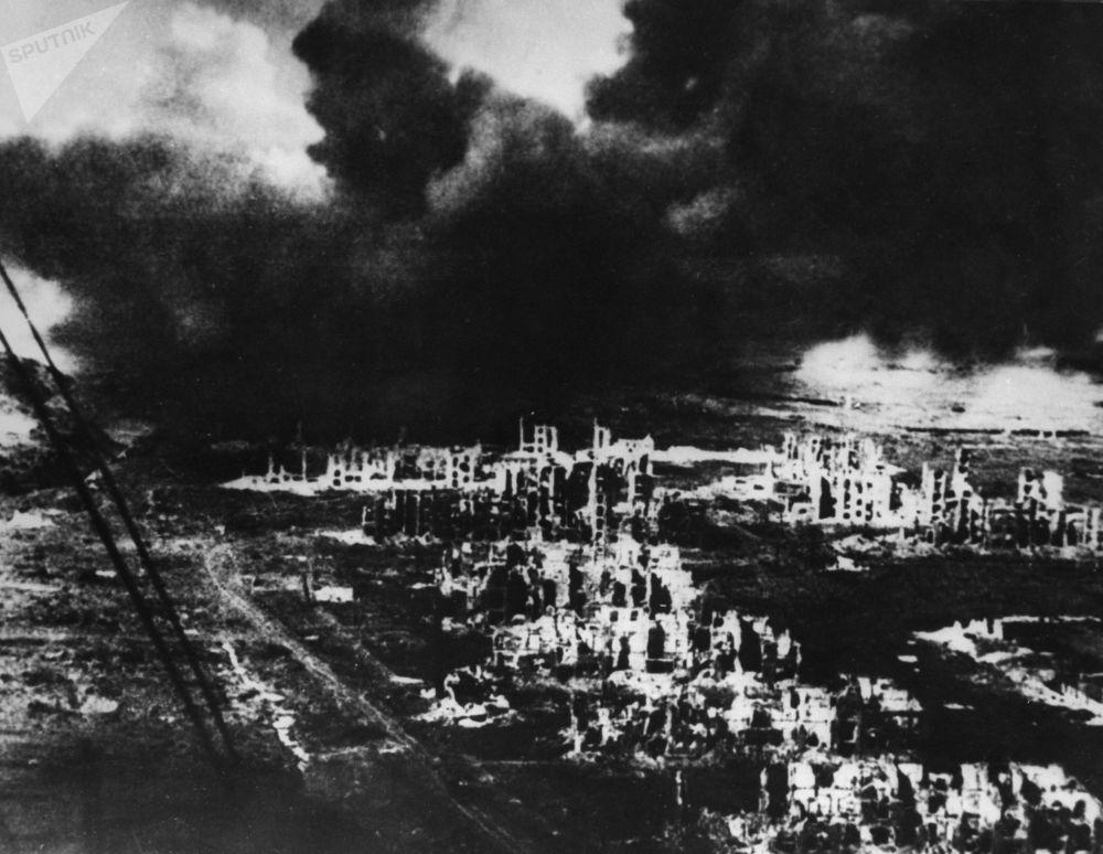战后的斯大林格勒,1942年