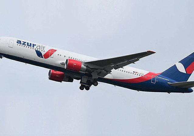 俄罗斯 AZUR Air 航空公司的Boeing 767-300 客机