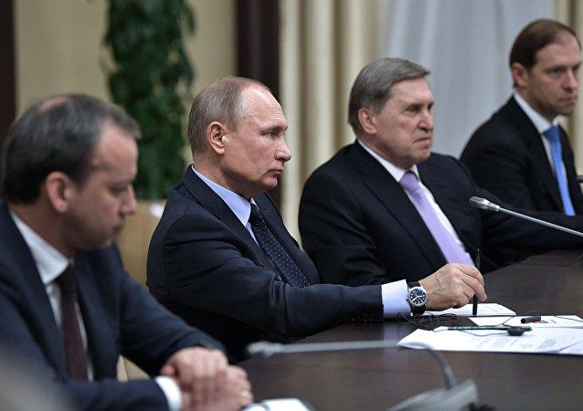 普京: 2017年俄罗斯GDP增长1.4%