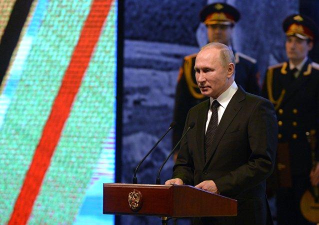 普京褒獎俄羅斯人民在斯大林格勒保衛戰中不屈不撓的精神力量