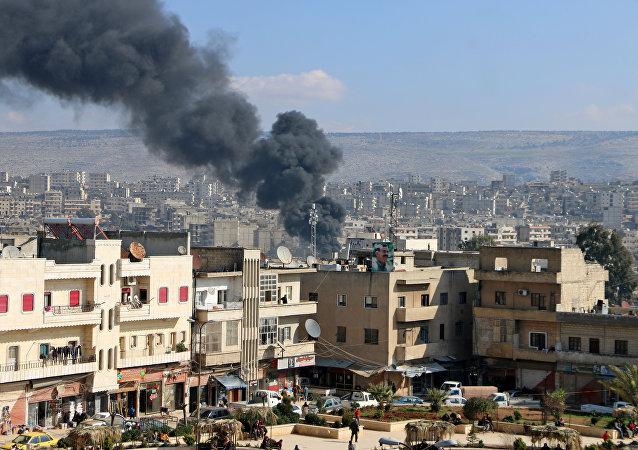 叙利亚阿夫林地区的行动