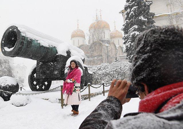 莫斯科降雪破記錄 百年一遇