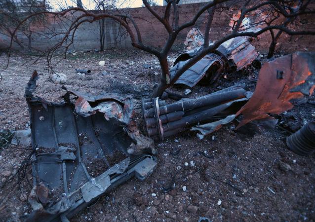 俄国防部请求土耳其协助收回2月3日在叙被击落的苏-25残骸