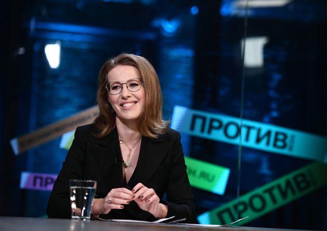 俄总统候选人索布恰克