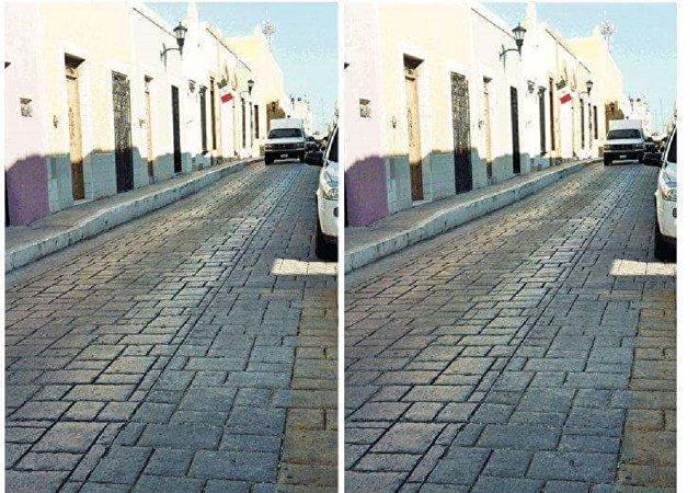 新错觉图看懵网友:这真的是同一条路?