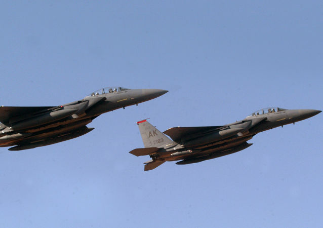 F-15E战机