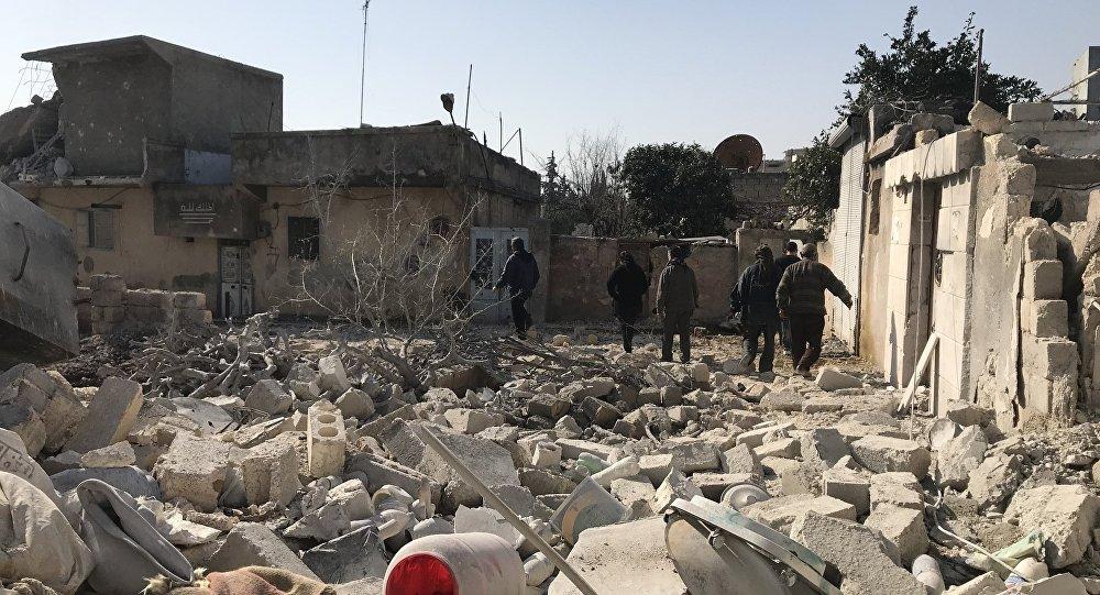 土方认为有关叙政府军将进入阿夫林的消息是假新闻