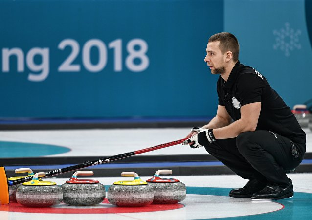 俄罗斯冰壶运动员亚历山大•克鲁舍利尼茨基