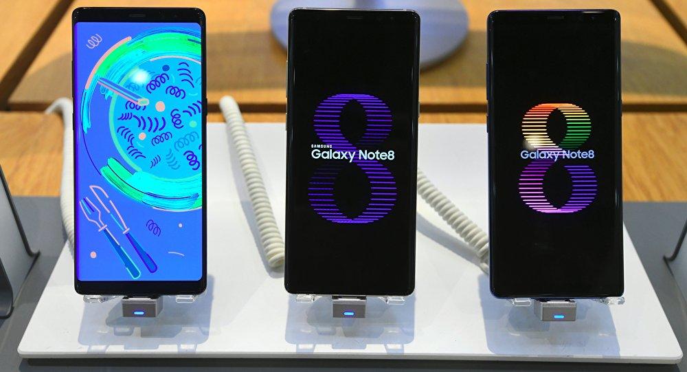 三星Galaxy Note 8手机