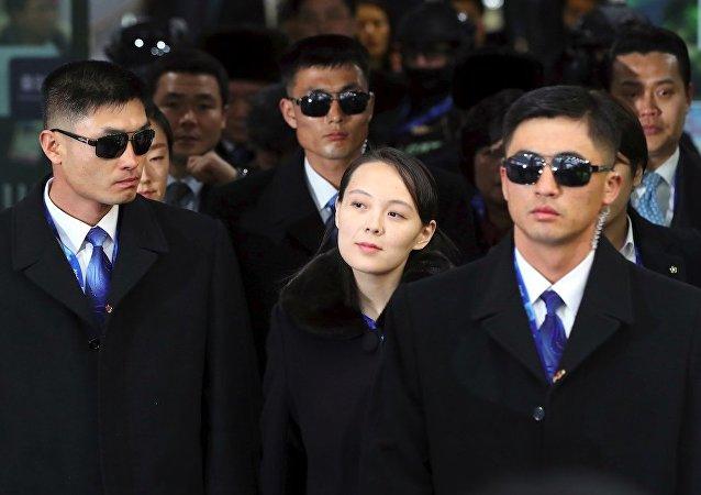 """韩国专家:金正恩把权力转交给妹妹的说法是""""胡说八道"""""""
