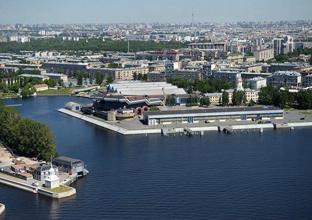 展示俄中當代關係的博物館在聖彼得堡俄中商務園開館