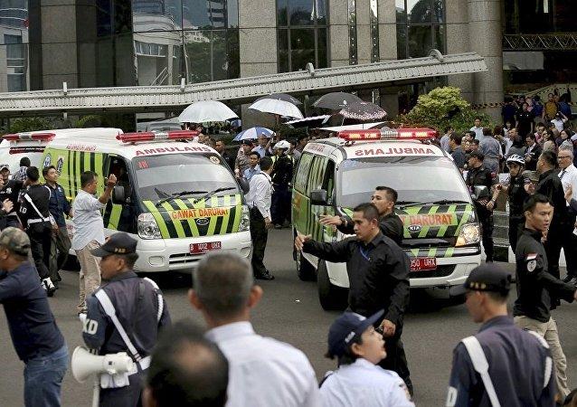 印尼急救车(资料图片)