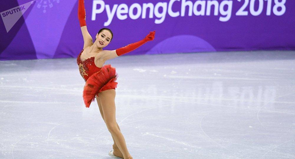 俄羅斯花樣滑冰運動員阿林娜·扎吉托娃