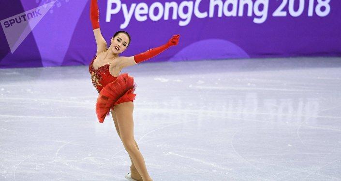 俄罗斯花样滑冰运动员阿林娜·扎吉托娃