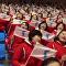 朝鮮拉拉隊吸引冬奧觀眾眼球(視頻)