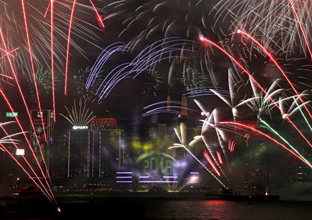 香港因重大交通事故决定取消春节烟花汇演