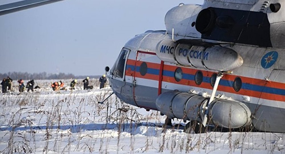 俄罗斯安-148飞机失事区域发现约2100块残骸