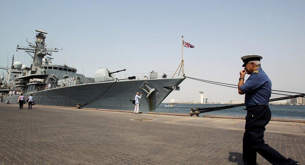 英國護衛艦「薩瑟蘭號」 (HMS Sutherland)