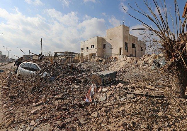 「勝利陣線」涉嫌在敘利亞蓄謀發動化武攻擊