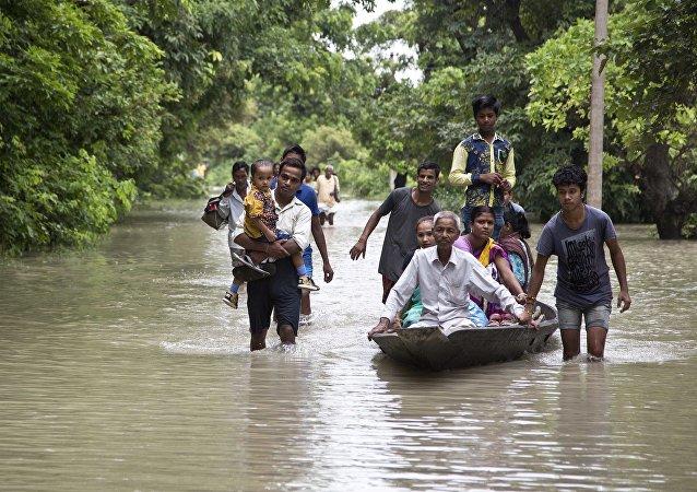 中欧非洲印尼和中国将受全球洪水影响