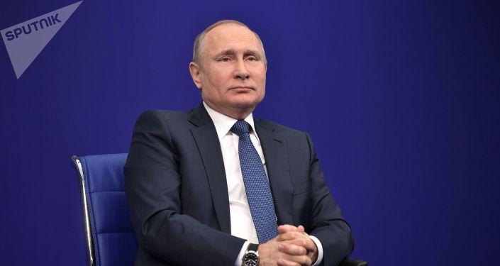 普京竞选总部将于3月3日在莫斯科举行竞选集会