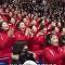 爆笑!美国综艺模仿朝鲜拉拉队魔性鼓掌 竟然神同步