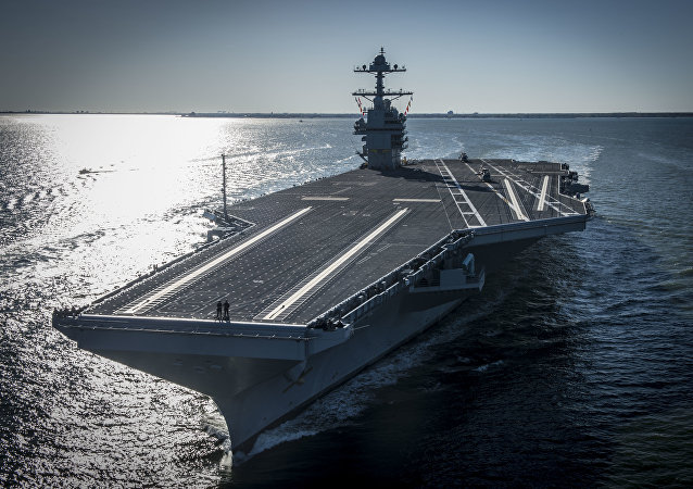 USS Gerald R. Ford embarked on the first of its sea trials to test various state-of-the-art systems on its own power