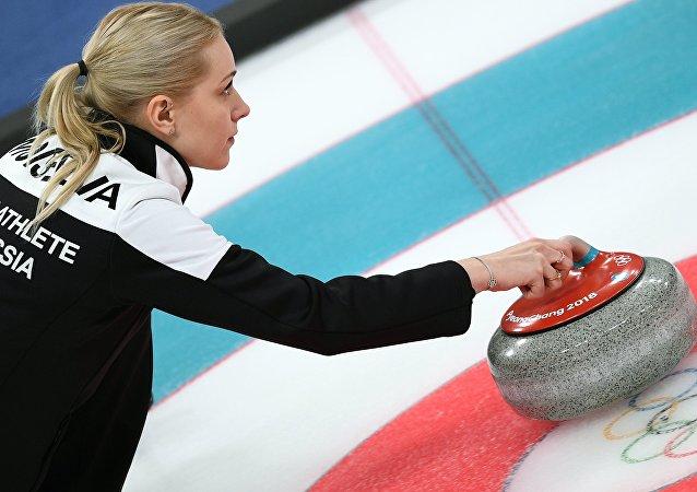 冬奥女子冰壶俄罗斯队成员
