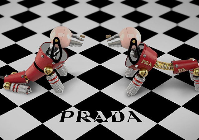 Prada's robot dogs introducing Lunar New Year offerings