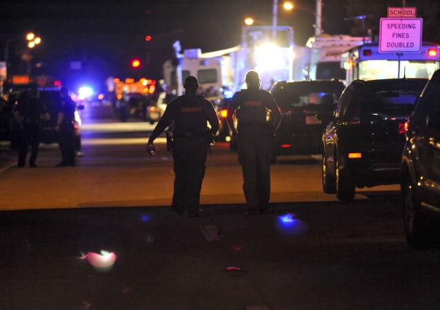 美国佛罗里达警察