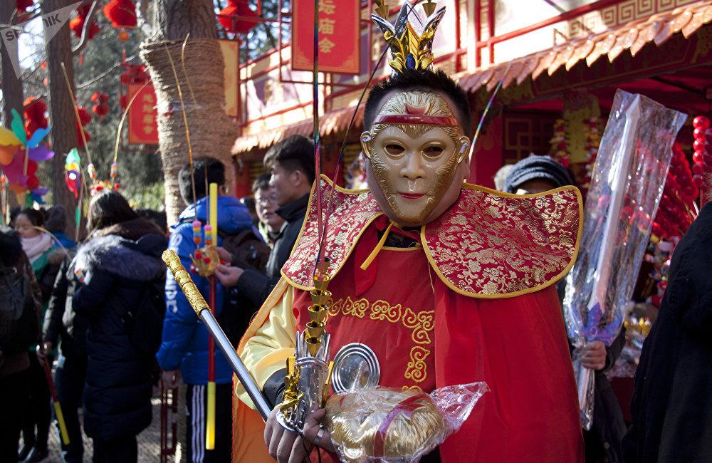 中國人過春節