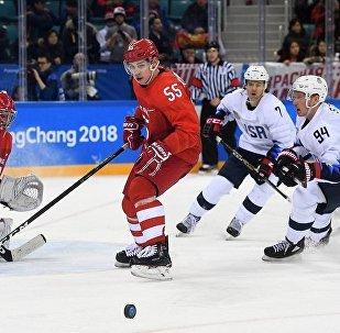 俄冰球队击败美国队直接晋级平昌冬奥会1/4决赛