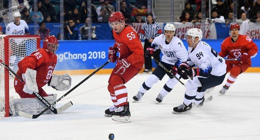 俄冰球隊擊敗美國隊直接晉級平昌冬奧會1/4決賽