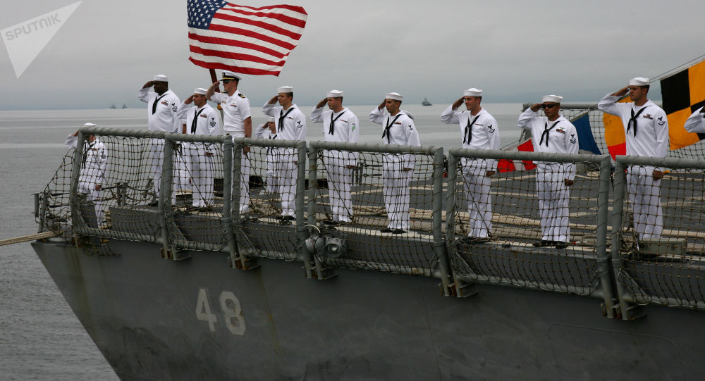 美国水兵请求允许他们留胡子