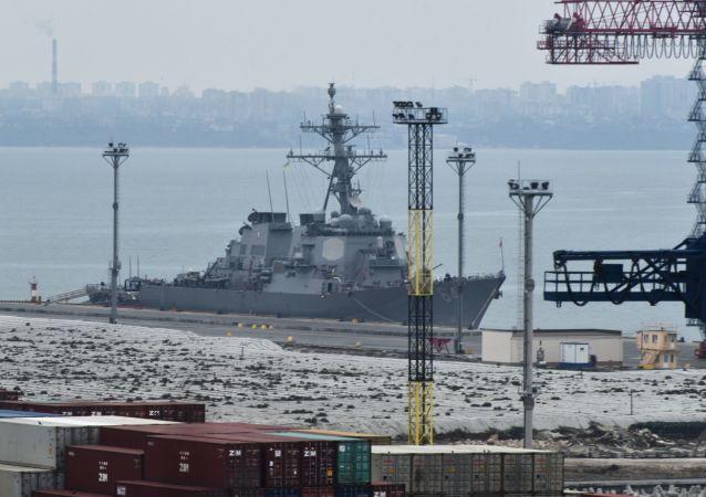 """美国海军驱逐舰""""卡尼号"""""""