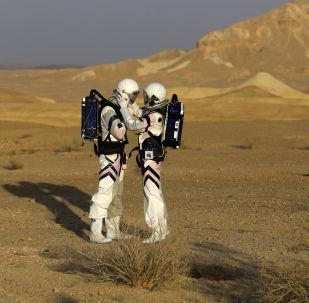 以色列在南部拉蒙坑中开始模拟登火星探险