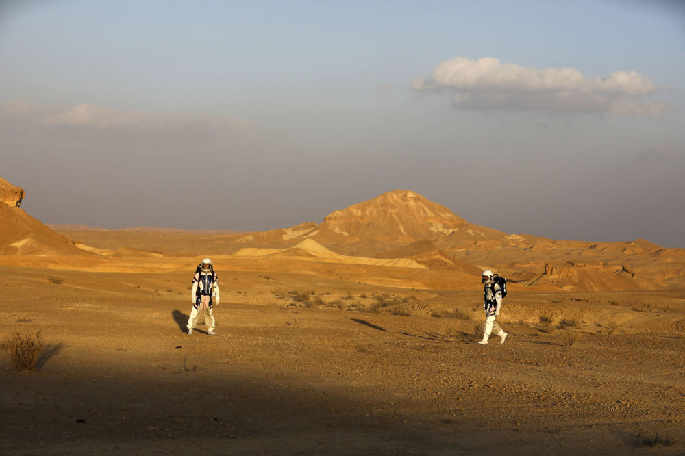 以色列在南部拉蒙坑中開始模擬登火星探險