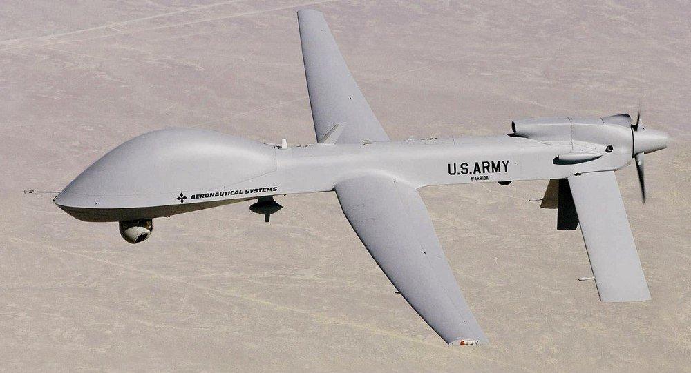 美国灰鹰无人攻击机  (MQ-1C Grey Eagle)