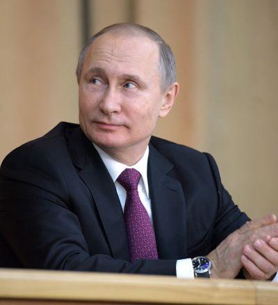 獨立候選人弗拉基米爾·普京