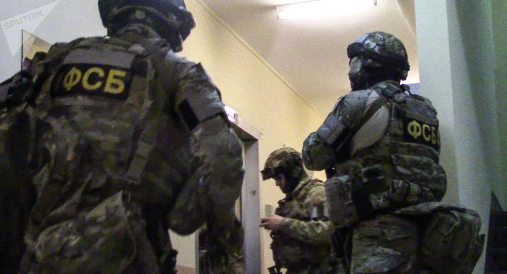 俄联邦安全局捣毁地下炸药制造和武器维修作坊