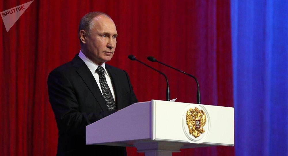普京:俄軍人在敘利亞展現出卓越素養和無畏精神
