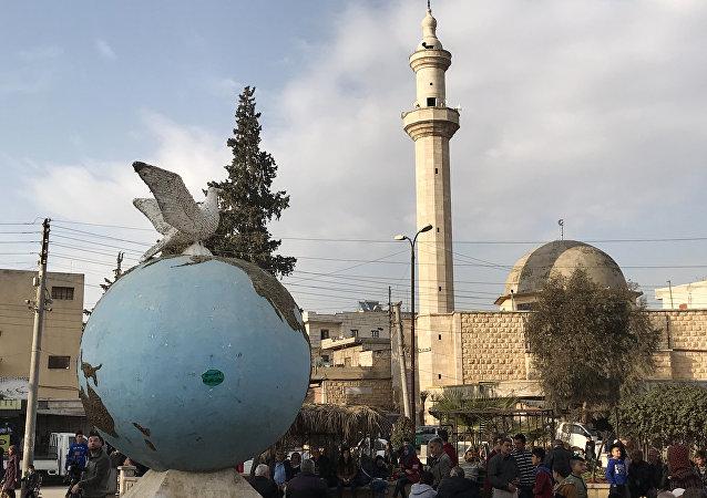 叙利亚信息部长接受俄卫星通讯社采访:我国媒体揭露白盔假新闻