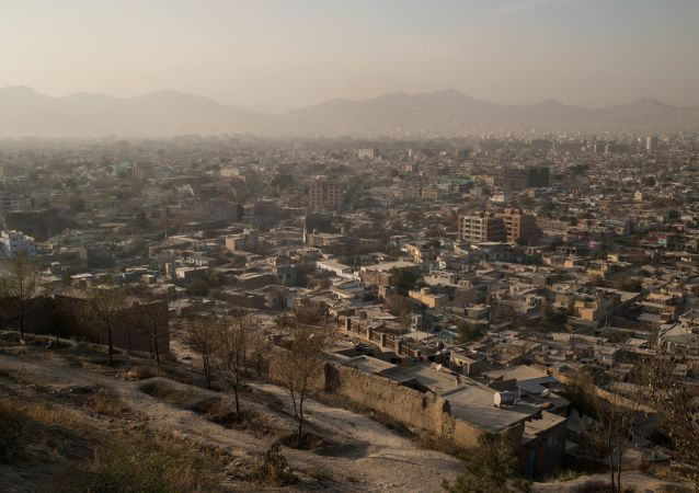 Вид на город Кабул в Афганистане