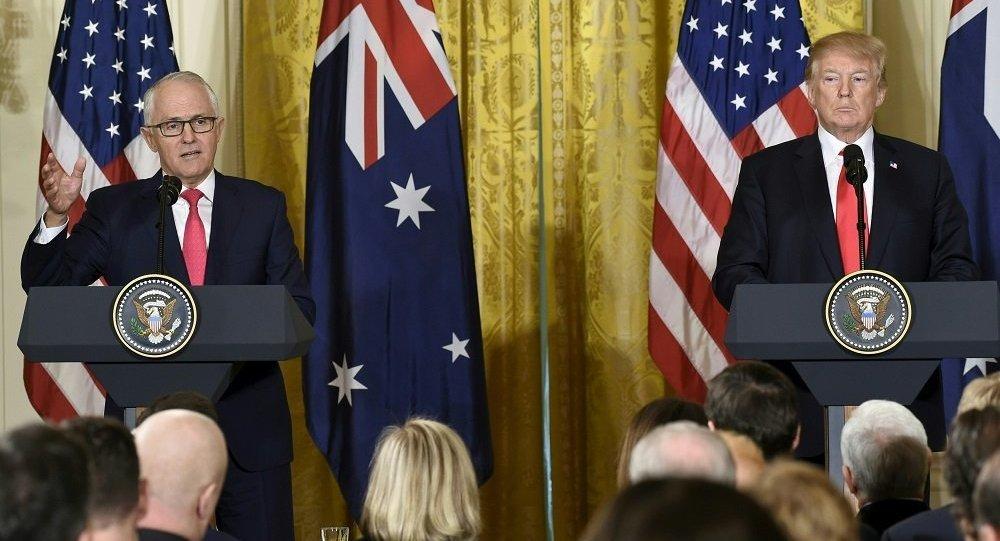 美澳领导人对南海局势表示担忧
