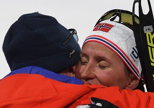 挪威滑雪运动员玛丽特·比约根