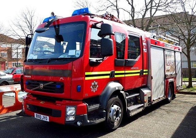 英国消防车