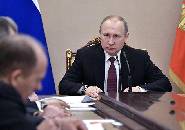 普京指示在東古塔區實行人道援助間歇制度